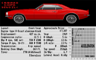 Thumbnail of other screenshot of Test Drive II - Muscle Cars