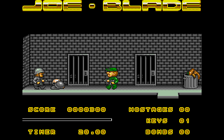Screenshot of Joe Blade