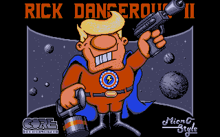 Screenshot of Rick Dangerous 2