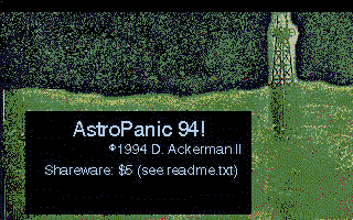 Screenshot of AstroPanic 94!