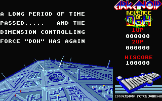 Screenshot of Arkanoid 2 - Revenge of Doh
