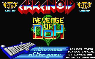 Thumbnail of other screenshot of Arkanoid 2 - Revenge of Doh