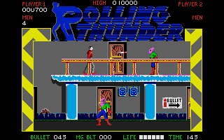 Screenshot of Rolling Thunder