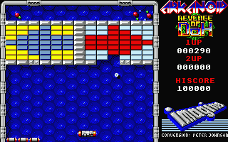 Large screenshot of Arkanoid 2 - Revenge of Doh
