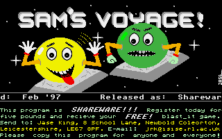 Thumbnail of other screenshot of Sam's Voyage!