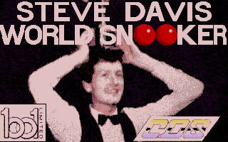 Screenshot of Steve Davis World Snooker