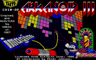 Thumbnail of other screenshot of Arkanoid 3