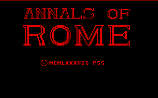Thumbnail of other screenshot of Annals of Rome