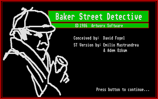Thumbnail of other screenshot of Baker Street Detective