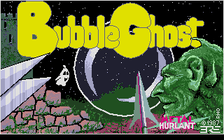 Large screenshot of Bubble Ghost