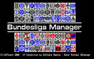 Large screenshot of Bundesliga Manager