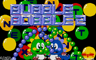 Screenshot of Bubble Bobble - Extended Screens 2