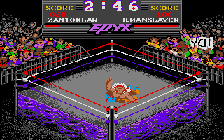 Screenshot of Championship Wrestling