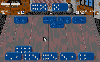 Large screenshot of Club Dominoes