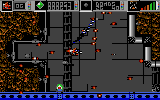 Screenshot of Cybernoid - The Fighting Machine