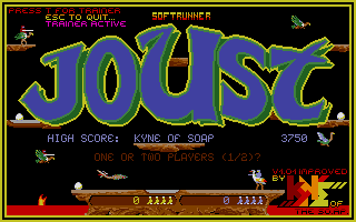 Screenshot of Joust
