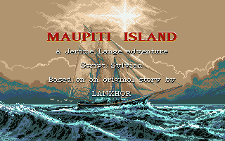 Large screenshot of Maupiti Island