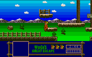 Thumbnail of other screenshot of Yogi's Great Escape
