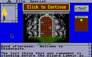 Thumbnail of other screenshot of Shadowgate