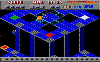 Large screenshot of Spidertronic
