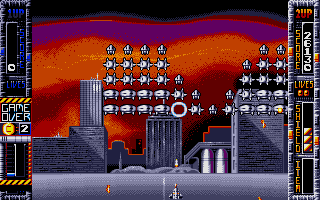 Screenshot of Super Space Invaders