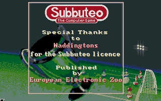 Thumbnail of other screenshot of Subbuteo