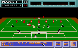 Screenshot of Subbuteo
