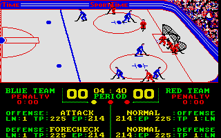 Screenshot of Superstar Ice Hockey
