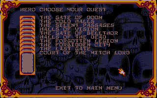Screenshot of HeroQuest - Return of the Witch Lord