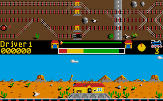 Screenshot of Locomotion