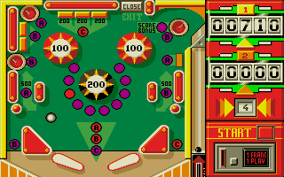 Screenshot of Pinball Magic