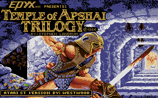 Screenshot of Temple of Apshai Trilogy, The