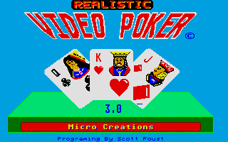 Thumbnail of other screenshot of Realistic Video Poker