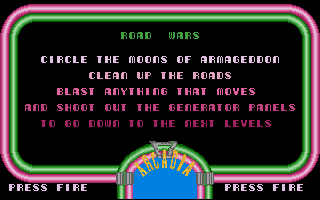 Large screenshot of Road Wars