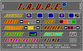 Large screenshot of T.A.U.P.E