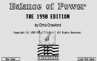 Thumbnail of other screenshot of Balance of Power - The 1990 Edition