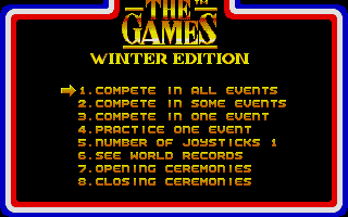 Screenshot of Games - Winter Edition, The