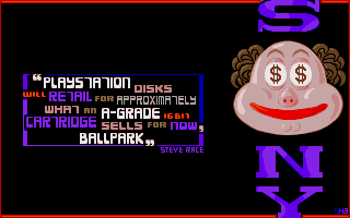 Maggie Disk 17: The picture reveals how much Atarians were obsessed by Sony's products at the time!
