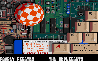 The Guardians of Logik were very inspired by Amiga? See issues 11 and 12.