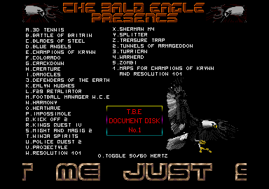 Did you notice Eddie published a doc disk, too?