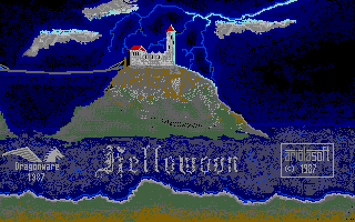 Hellowoon was finally published on Atari ST at first.