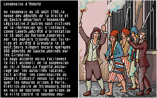 '89 La Revolution Francaise' was coded by Excalibur: it's probably one of the rarest games ever recovered