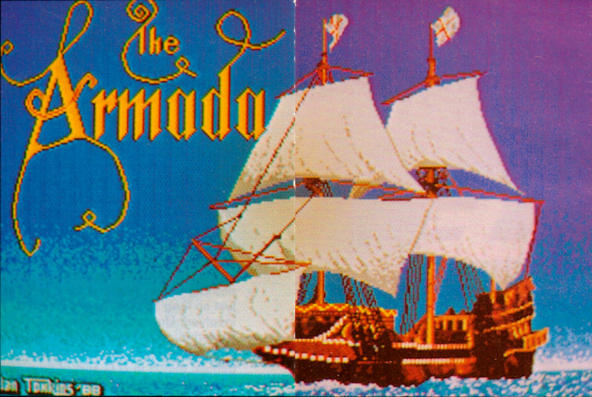 Armada was another unreleased game Alan worked on during the 80s