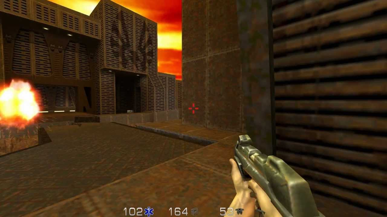 Everybody on this planet must have some love for ID games, right? This is no exception - Quake 2