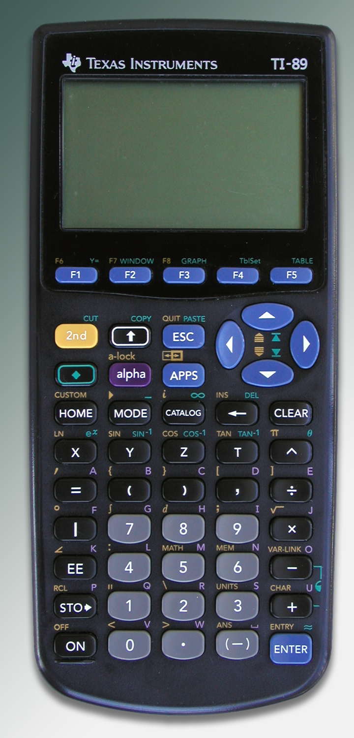 TI-89 calculator helped Cédric in mastering the 68000 assembler language