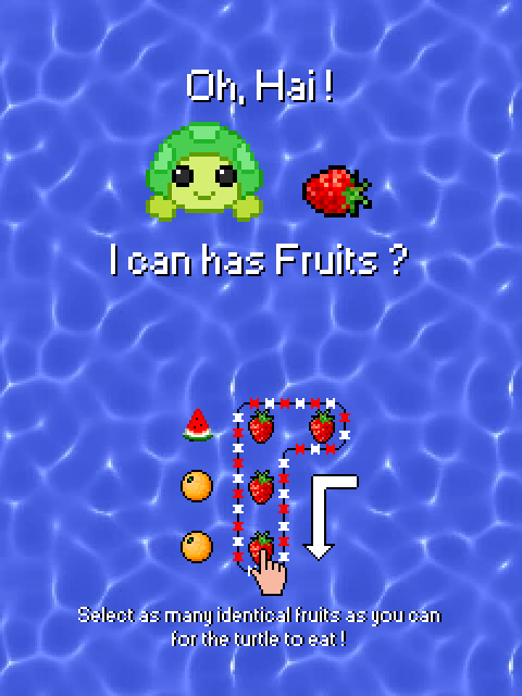Turtle Chomp, an example of mobile gaming ...