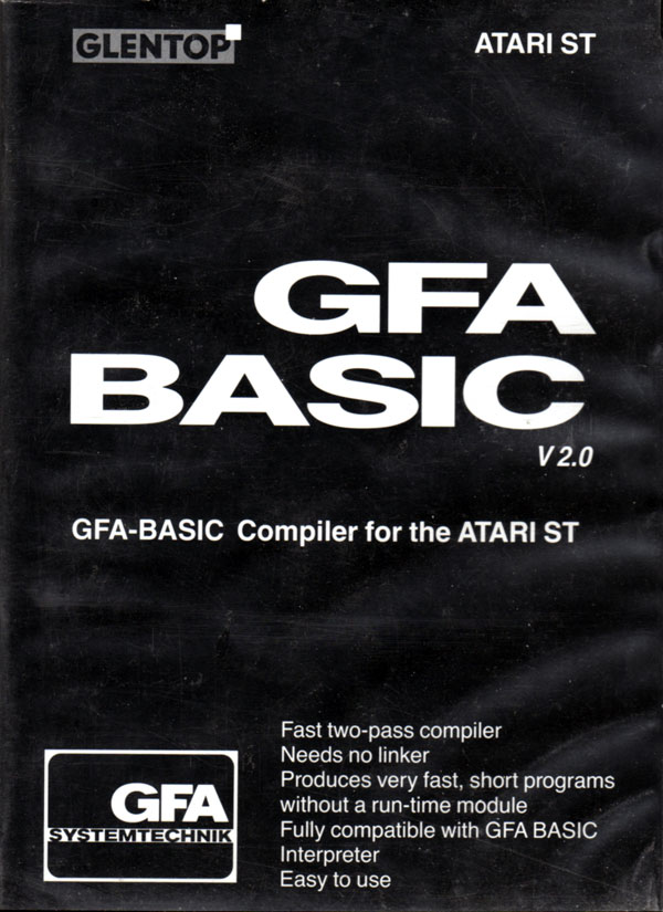 GFA Basic is used to create all of Thomas' games.
