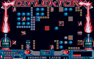 While most people compare Laserball to the classic Gremlin game Deflektor, Thomas only ever saw this game after the release of Laserball 2015!