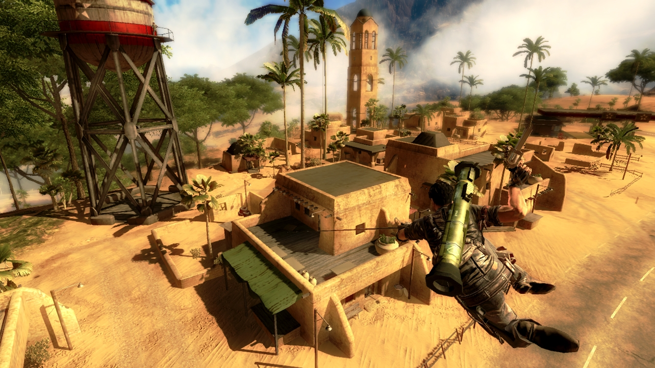 'Just Cause 2' created a virtual world in which you could do almost anything you like. A real game changer.