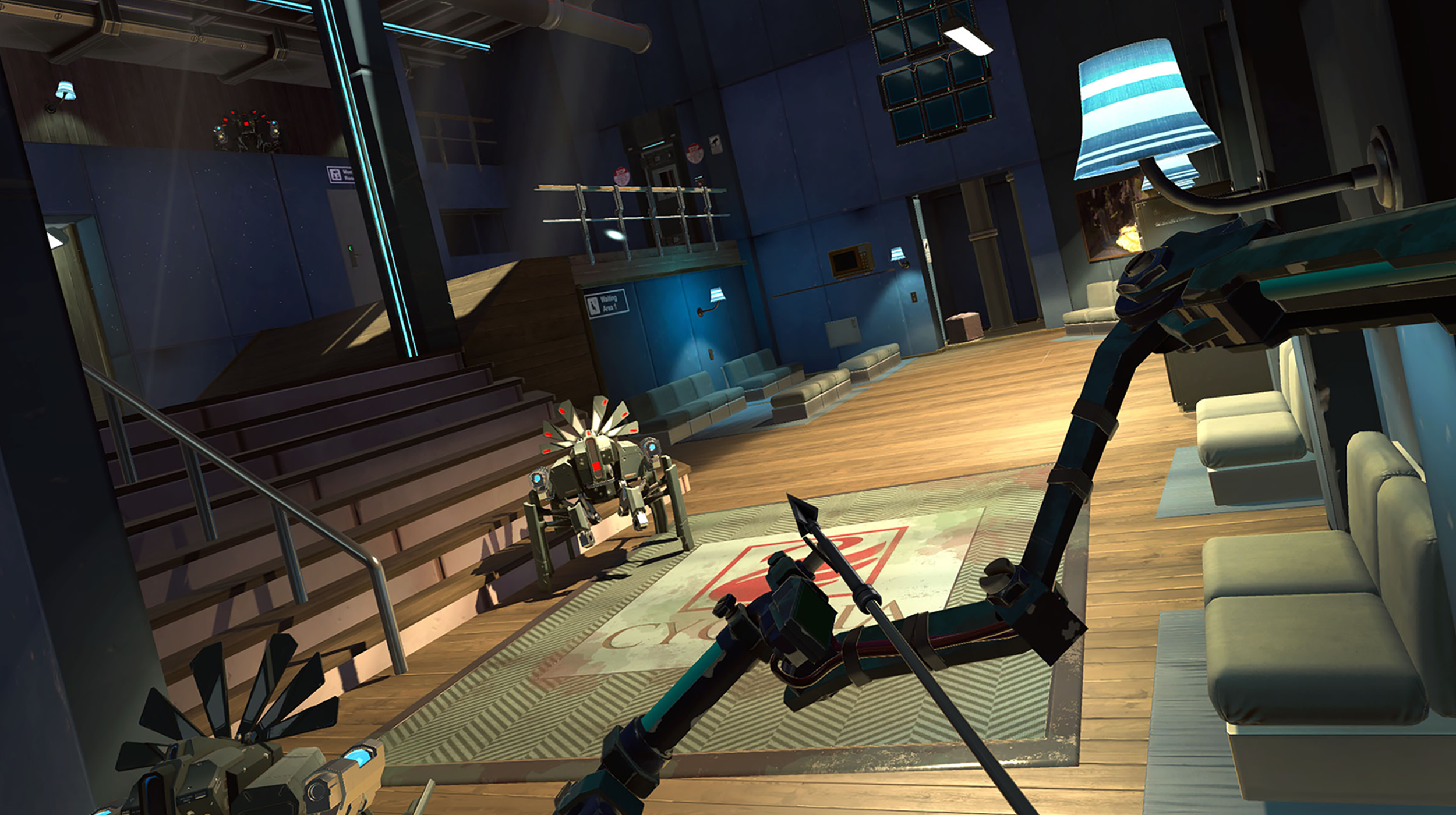 The amazing new release 'Apex Construct'. Shooting a bow and arrow in the virtual world!